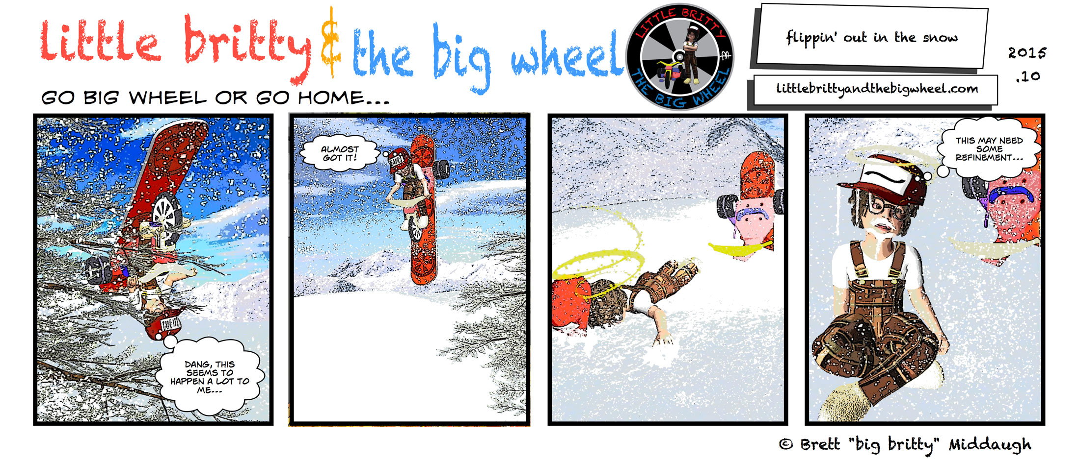 flippin' out in the snow #62